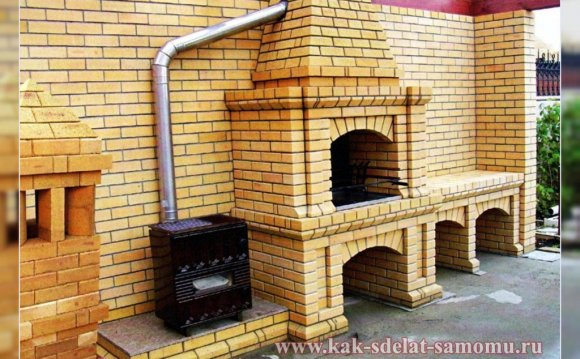 Построить печь мангал своими