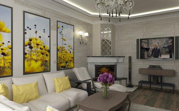 Дизайн зала в квартире с
